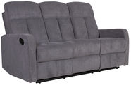 Home4you Sofa Flexy-3 Gray 21522