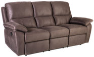 Home4you Sofa Luna-3 Brown 16736