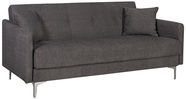Home4you Sofa Bed Logan Brown 11596