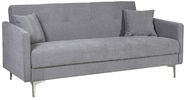 Home4you Sofa Bed Logan Light Gray 11597