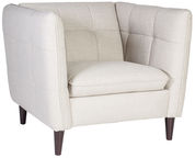 Home4you Armchair Melrose Light Gray 20607