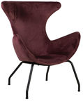 Home4you Armchair Penelope Rusty Brown 37992