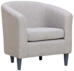 Home4you Armchair Wester Light Gray 2157