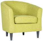 Home4you Armchair Winston Lime Green 21576