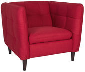 Home4you Armchair Melrose Red 20606