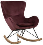 Home4you Rocking Chair Penelope Brown 37981