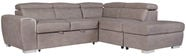 Home4you Corner Sofa Elba RC Taupe 28513