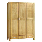 Home4you Chicago New Wardrobe 130x190cm Oak