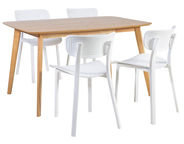 Home4you Dining Room Set Enrich White K208949