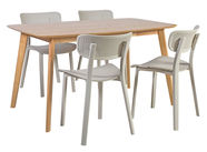 Home4you Dining Room Set Enrich Gray Oak K2089410