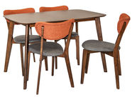 Home4you Dining Room Set Luxy Orange K208913