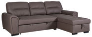 Home4you Corner Sofa Almira UC Taupe 42801