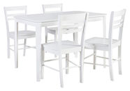 Home4you Dining Room Set Take Away White K064312