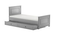 Bellamy Ines Kids Bed With Drawer Grey