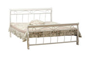 Signal Meble Venice Bed 120x200cm White