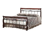 Signal Meble Venice Bed 120x200cm Antique Cherry