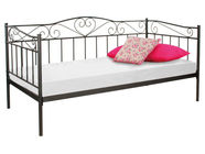 Signal Meble Birma Bed 90x200cm Black