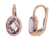 Diamond Sky Gold Earrings Amethyst Glory II
