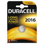 Duracell Long Lasting Power Lithium Tablet Battery CR2016