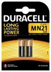 Duracell Alkaline Long Lasting Power Batteries 2x MN21