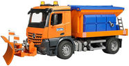 Bruder Mercedes Benz Arocs Winter Service Vehicle With Plough Blade 03685