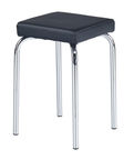 Halmar Stool Piri Dark Black