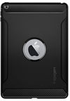 Spigen Rugged Armor Case For Apple iPad 9.7 2018/9.7 2017 Black
