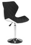 Halmar Matrix 2 Bar Stool Black/White