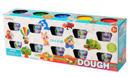 Playgo Dough Pack Basic Color 10pcs 8610