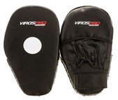 VirosPro Sports SG-1099 Leather Boxing Punch Mitts Black