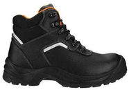 SN Ankle Safety Shoes With Reflector PU215 S3 Black 43