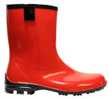 Paliutis PVC Women's Rubber Boots Red 38