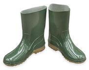 Paliutis Women's  Rubber Boots Green Grey 40