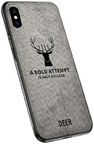 Mocco Deer Back Case For Apple iPhone X/XS Grey
