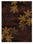 Alfa Shiraz Carpet 80x150cm Brown Beige