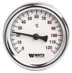 Watts Thermometer 1/2 120C 63mm