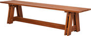 Folkland Timber Riva Bench Brown