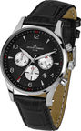 Jacques Lemans Men's Watch London Chronograph 1-1654A Black