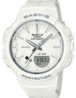 Casio Women's Watch Baby G BGS-100SC-7AER White