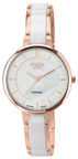 Boccia Titanium Women's Watch 3236-03 White Rose Gold
