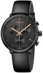Calvin Klein Men's Watch Chronograph High Noon K8M274CB Black
