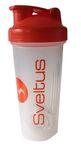 Sveltus Shaker 600ml White/Orange