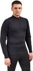 Rucanor Thermo Shirt With Crew Neck 28209 02 S Black