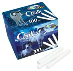 Centrum Zoo White Chalk For School 100pcs