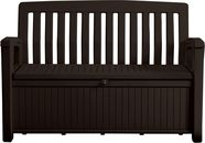 Keter Patio Bench 227l Brown