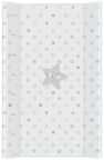 Ceba Baby Hard Changing Mat Short Stars Grey