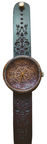 OVi Watch King Mandala Walnut Wood Watch