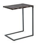 Home4you Wicker Side Table 47.5x35x63cm Dark Brown