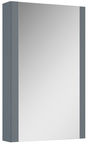 Elita Bathroom Cabinet With Mirror Eve 167070 Silver Matt