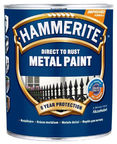 Hammerite Anticorrosive Enamel Metal Paint Smooth Red 0.75L